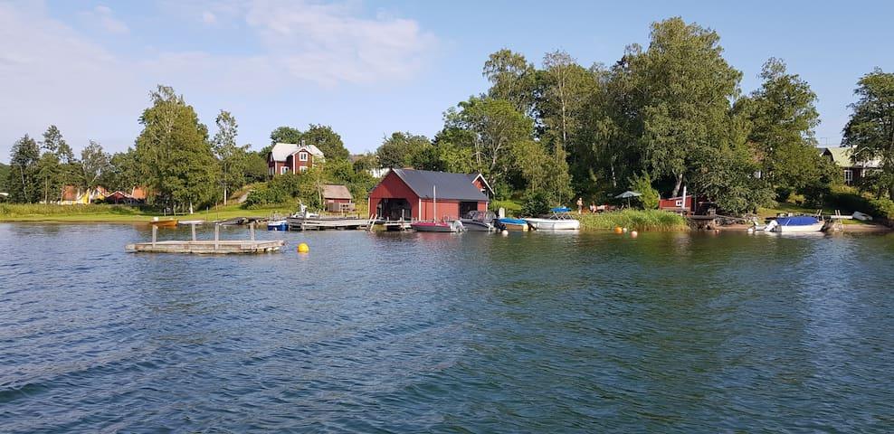 Charmigt 30-talshus i Stockholms skärgård