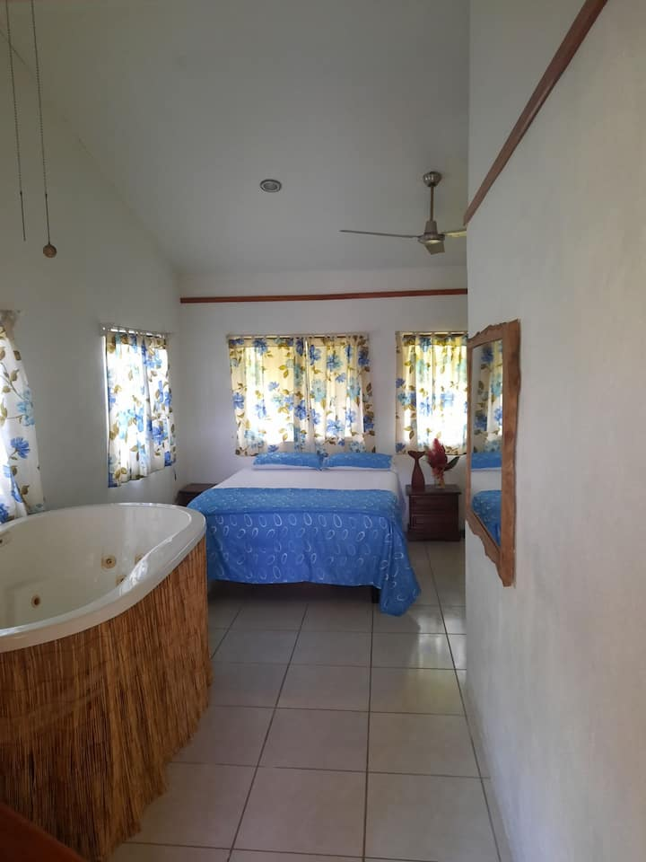 Cozy authentic Osa living 2 min walk to the beach