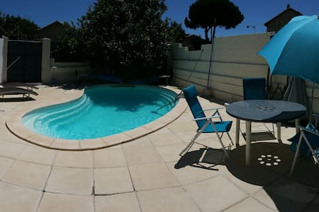 chambre avec accès piscine - Bompas