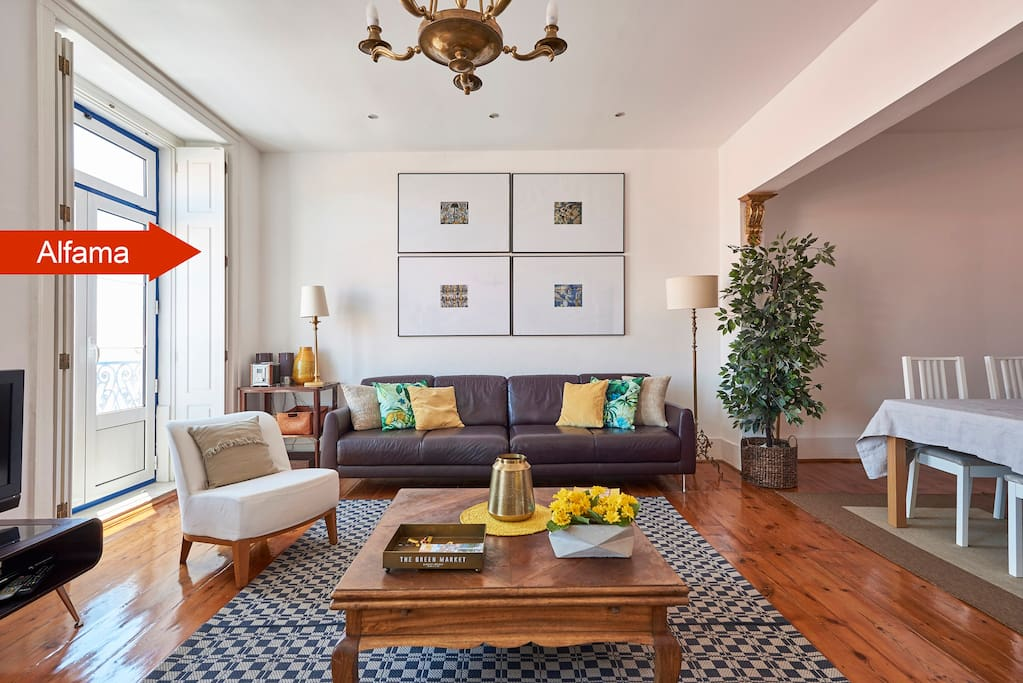 Brilliant living room