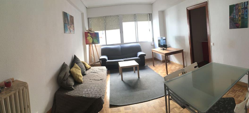 Habitacion pequeña en Madrid Centro - Madrid - Byt