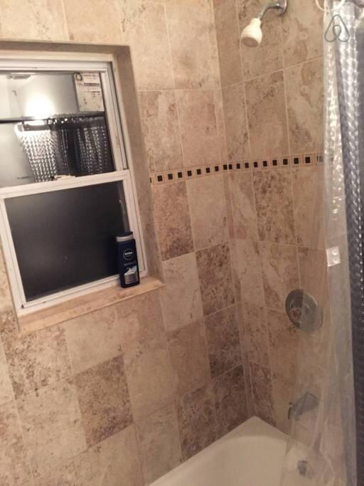 Shared Bathroom - shower