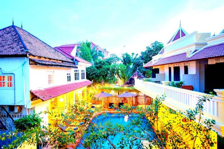 Deluxe Double Room with Pool View - Free Transfer