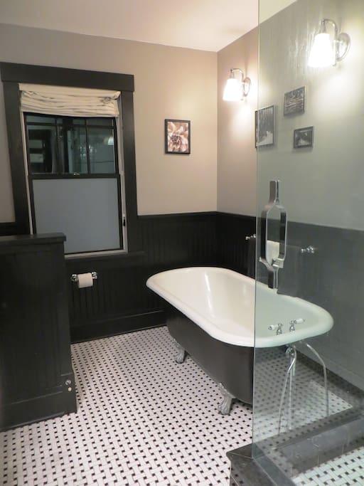 Upstairs Bathroom Clawfoot Tub
