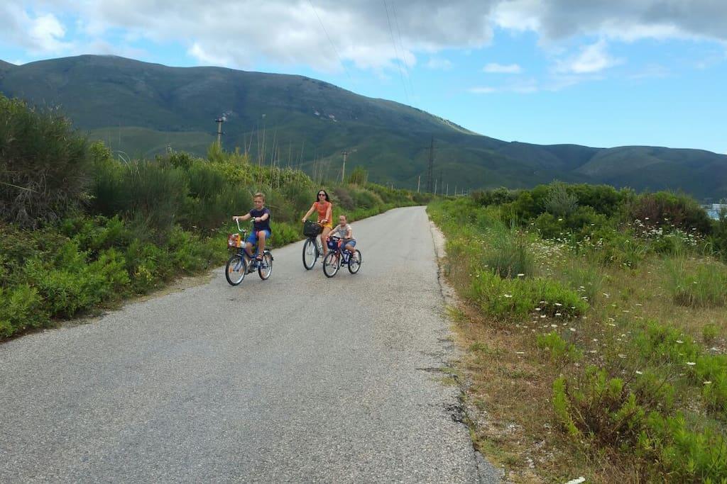 Orikum Biking Path