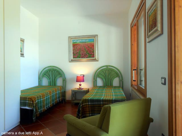 Appartamento A, camera doppia