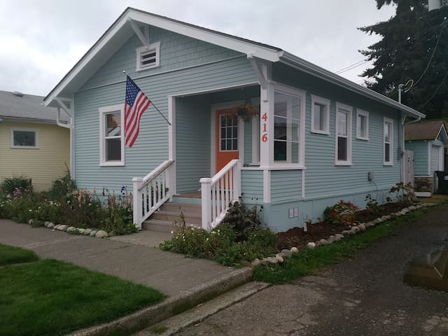 The SeaShell Cottage - Port Angeles - Casa