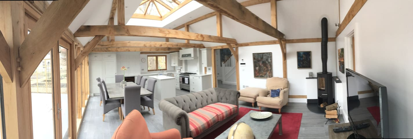 Stunning Lodge by Ridgeway/Thames - North Stoke - Hus