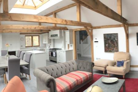 Stunning Lodge by Ridgeway/Thames - North Stoke - Hus