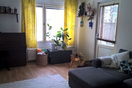 Four rooms and kitchen in Malminkartano - Helsinki - Daire