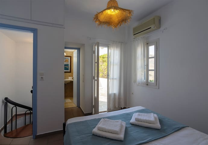 bedroom 3 with a double bed and private bathroom