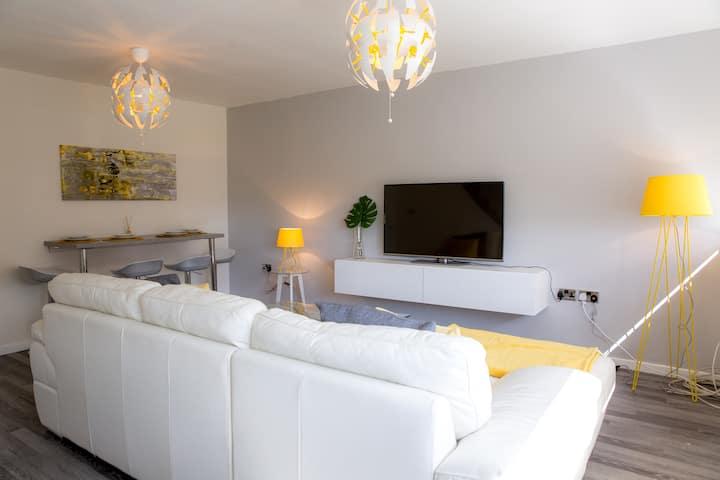 NEC, BHX, JLR, GENTING ARENA, Modern Apartment