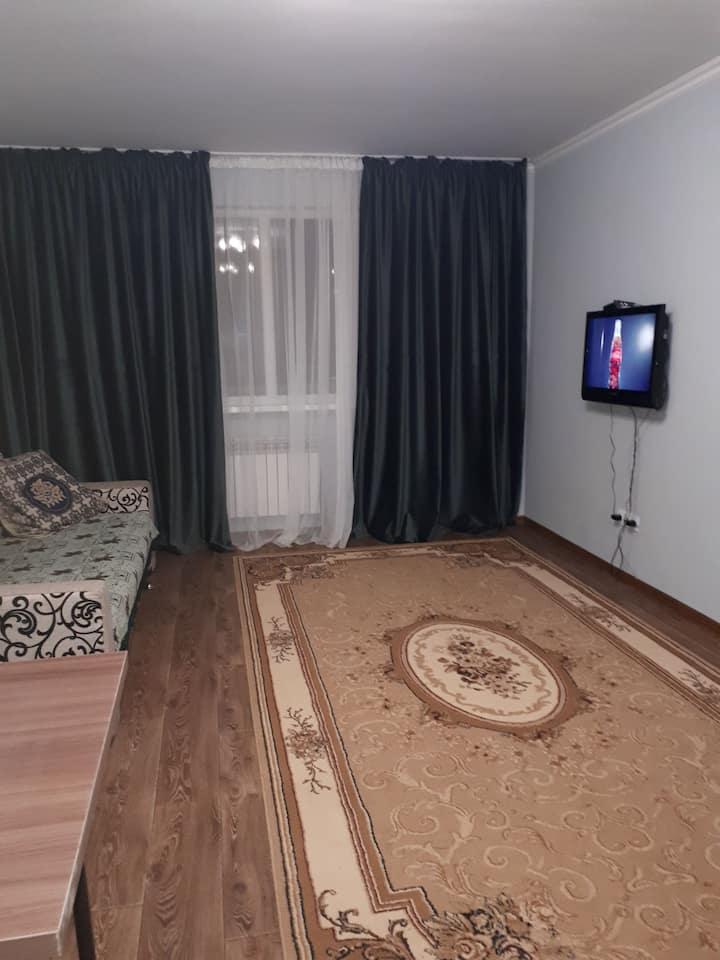 "Уютные апартаменты недалеко от ""Алматы арена"""