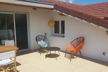 Appartement 65 m2 et terrasse 26 m2 vue imprenable - Montbonnot-Saint-Martin - 公寓