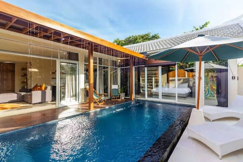 Digital Nomad Paradise 1BR Villa with Private Pool