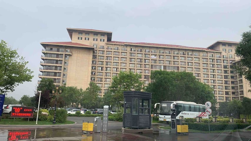 北戴河黄金海岸阿尔卡迪亚戴河首领公寓-临海小筑