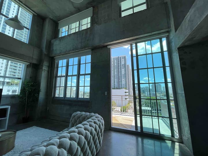 Loft Studio Downtown Miami, Great Location