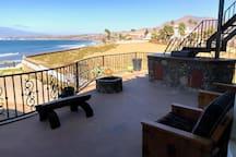 Fire-Pit BBQ Ocean View