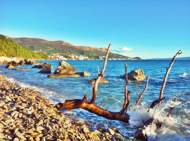 Unwind.Relax.Explore.Read.Swim.Love - Stobreč - Flat