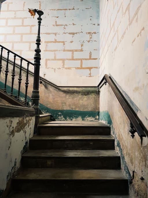 Stairs to home