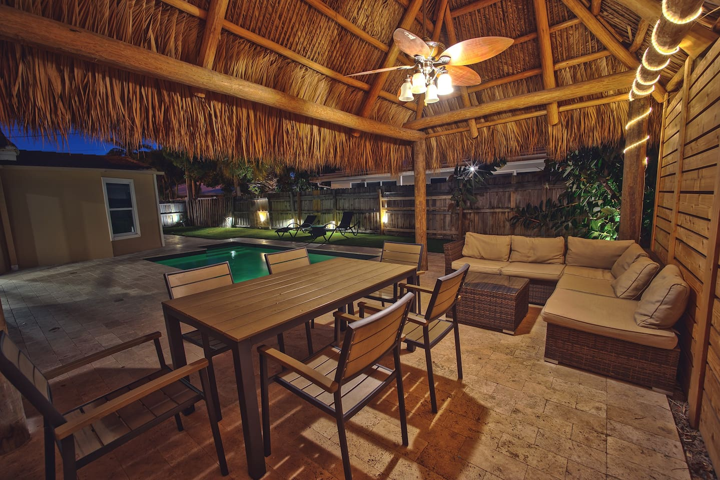 Beach 2 mins away.. TIKI HUT, Pool, Nightlife! - Houses for Rent in ...