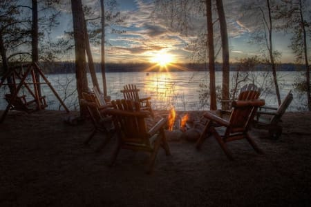 Private Lakehome with stunning sunsets near Nisswa - Pequot Lakes