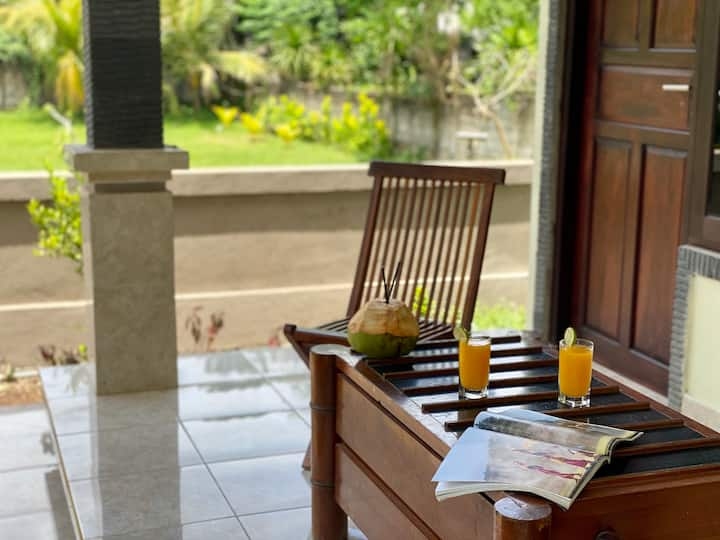 R4 CENTRALLYlocated PRIVATEroom/close to SURFspots