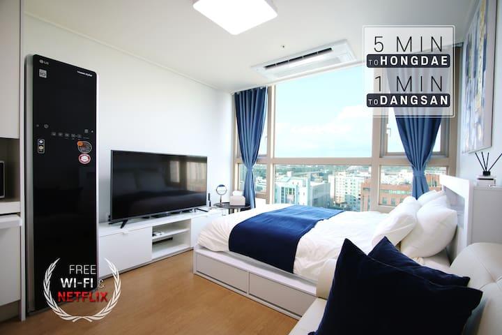 ★Lininghouse★ #River view #Near Hongdae #LG Styler