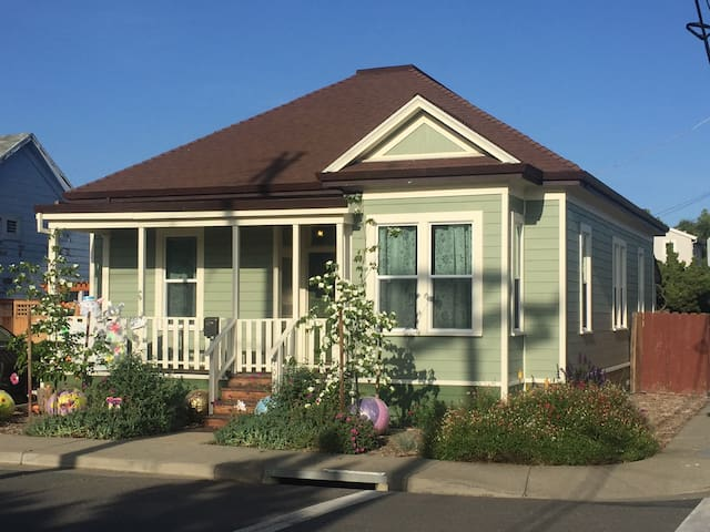 Renovated Victorian in Old Suisun - Suisun City - Casa