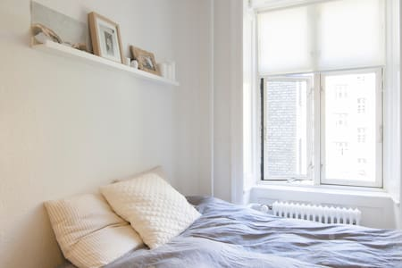 Cozy and central apartment in Vesterbro - København - Apartment