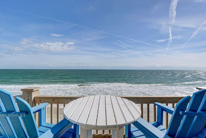 Fabulous! Beach Front! Flexible! Location! Luxury!