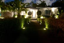 Front night lighting