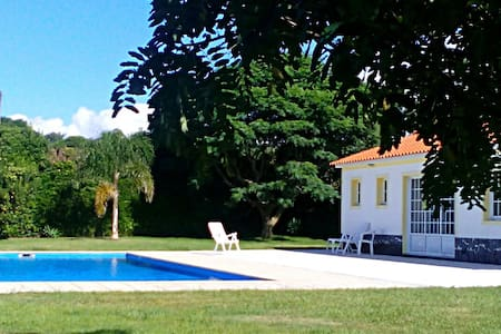 Charming country pool cottage - S. Vicente Ferreira