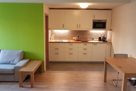 Green apartment near Prague Castle