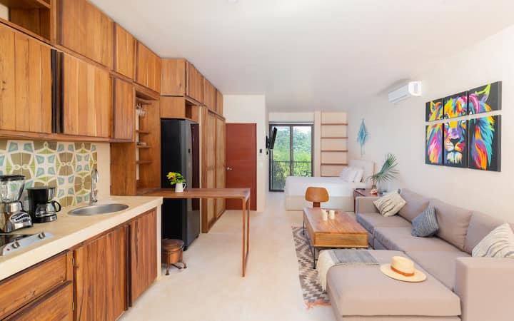 Inspiring Tulum Studio | Panoramic Rooftop Pool