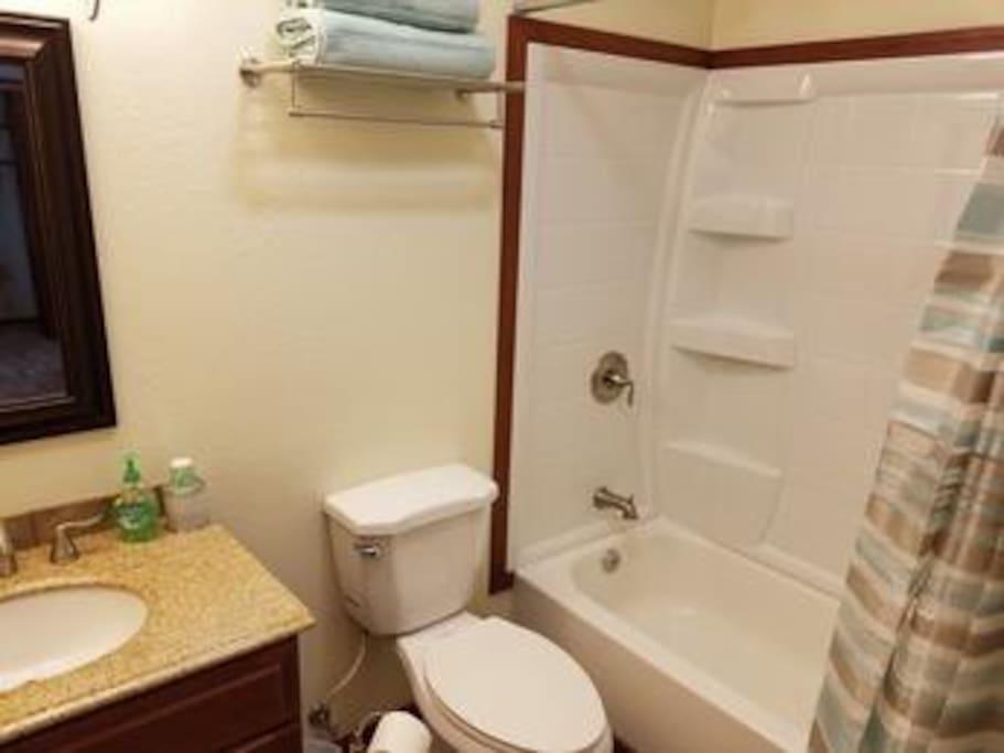 Single Room Bathroom