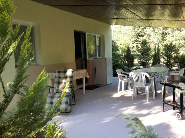 Wyposażony samodzielny dom z działką, nad jeziorem - Wincentowo - Bungalow