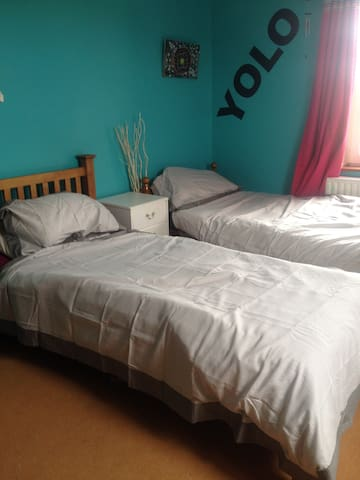 Twin Room Ensuite In Ennis - Ennis - Apartment