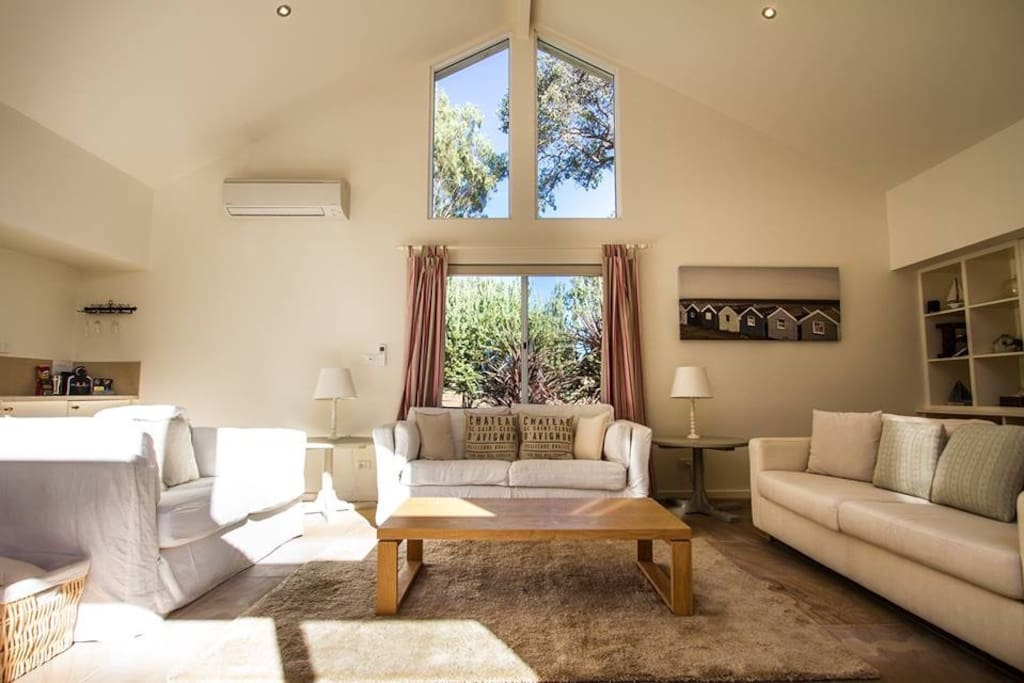 Large sunny lounge room
