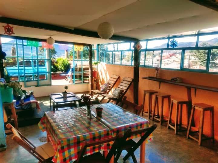 Habitacion V privada doble. Incluye desayuno!!