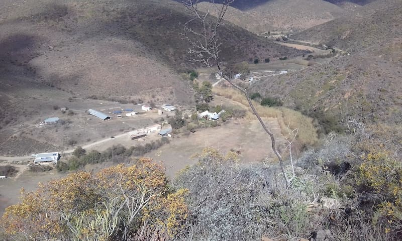 Kraaldoorn Farm Cottage - Klein Karoo