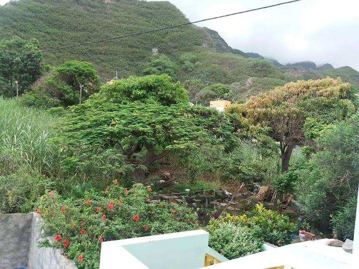 Paùl - St Antao Cap-Vert : Appartement avec vue