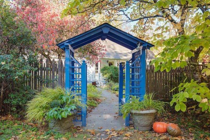 Charming Bainbridge Island cottage and gardens.