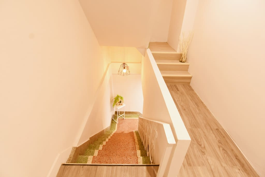 Hostel stair