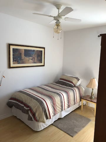 Charming clean room in great location.
