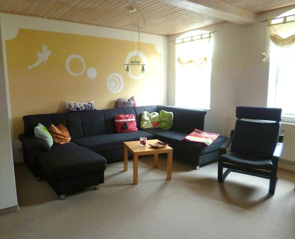 Modern & bright apartment, 72sqm, sleeps 4 pers.