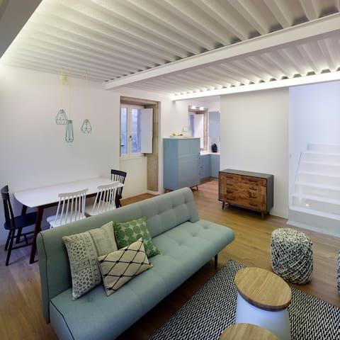 Una casa cómoda y acogedora. - Santiago de Compostela - Dům