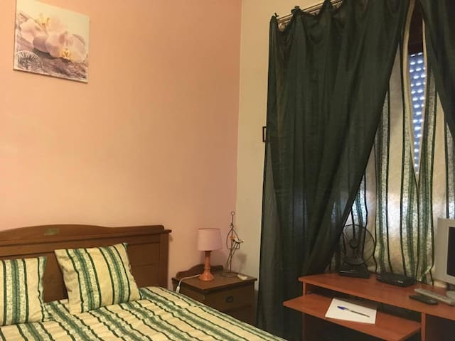 Small and double room