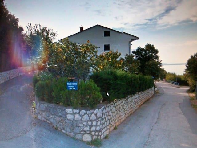 Wohnung am Meer-App Tijana 2+2 - Smokvica Krmpotska - Daire