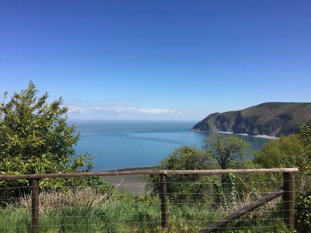 View from St Mary's Church, Lynton